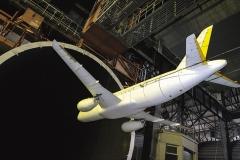 Фото 10. Модель Суперджета в аэродинамической трубе 2007 г.