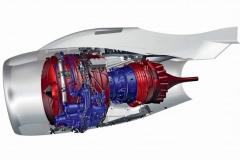 Фото 151. Двигатель SaM146 в мотогондоле