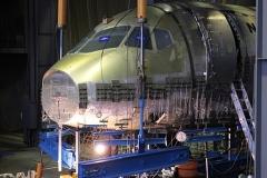 Фото 18. Статические испытания Суперджет 100 в ЦАГИ. Февраль 2008 г.