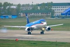 Фото 37. Первый полёт. 19 мая 2008 г.