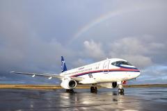 Фото 43. Второй опытный Superjet 100