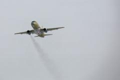 Фото 49. Испытательный полёт с одним работающим двигателем