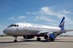 Фото 53. Superjet 100 российской авиакомпании Аэрофлот. Июнь 2016 г.