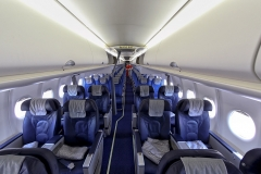Фото 55. Салон одного из самолётов (RA-89005) Аэрофлота. 10 июля 2012 г.