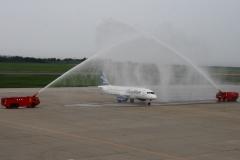 Фото 57. Встреча Суперджета в аэропорту Ниигата (Японии). 30 июля 2013 г.