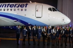 Фото 67. Презентация Sukhoi Superjet 100 авиакомпании Interjet в Мексике