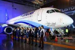 Фото 68. Презентация Sukhoi Superjet 100 авиакомпании Interjet в Мексике