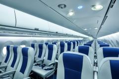Фото 75. Салон Суперджета авиакомпании Interjet