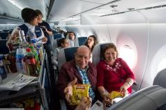 Фото 77. На борту Суперджета выполняющего рейс Мехико-Масатлан. Декабрь 2013 г.