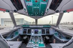 Фото 87. Кабина экипажа Superjet 100-95LR