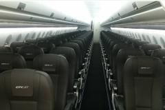 Фото 94. Салон Суперджета ирландской авиакомпании CityJet