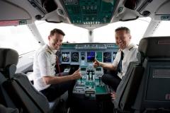 Фото 95. Экипаж первого Superjet в авиакомпании Сityjet