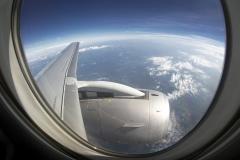 Фото 99. Вид из иллюминатора самолёта летящего из Москвы в Нижний Новгород. Июль 2012 г.