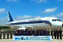 Фото 96. Церемония ввода двух Sukhoi Business Jet в состав 603-й эскадрильи 6-го авиационного крыла Королевских ВВС Таиланда. Дон Мыанг (Бангкок). 31 августа 2016 г.