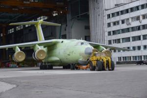 Первый серийный самолёт Ил-76МД-90А