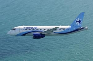Sukhoi Superjet 100 мексиканской авиакомпании Interjet