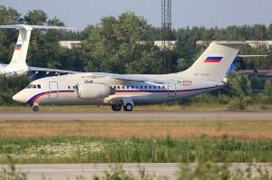 Третий Ан-148-100Е для МО РФ