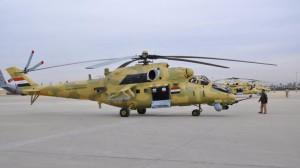 Ми-35М армии Ирака