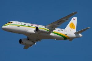 Sukhoi Superjet 100 авиакомпании Lao Central Airlines