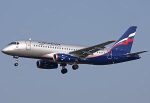 Sukhoi Superjet 100 авиакомпании Аэрофлот