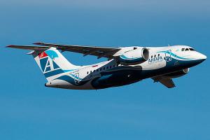 Ан-148-100Е авиакомпании Ангара