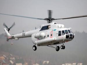 Ми-8АМТ службы спасения города Алматы