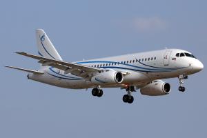 Sukhoi Superjet 100 авиакомпании Газпромавиа