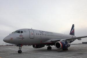 Sukhoi Superjet 100 М.Водопьянов авиакомпании Аэрофлот