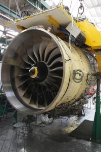 Прототип двигателя ПД-14 для испытаний