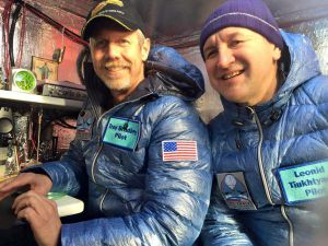 Трой Брэдли и Леонид Тюхтяев (справа)