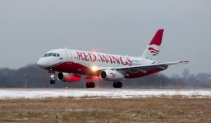 Sukhoi Superjet 100 авиакомпании Red Wings