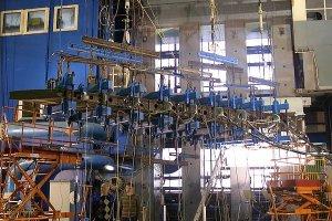 Прочностные испытания металло-композитной конструкции кессона киля МС-21-300