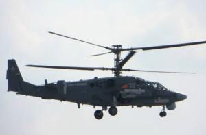 Первый полёт Ка-52К