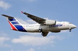 Ан-158 кубинской авиакомпании Cubana de Aviacion