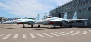 Су-35С переданные Министерству обороны России 16 июля