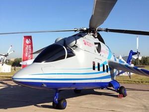 Макет летающей лаборатории перспективного скоростного вертолёта