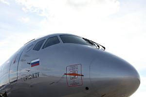Новый Sukhoi Superjet 100 авиакомпании Аэрофлот
