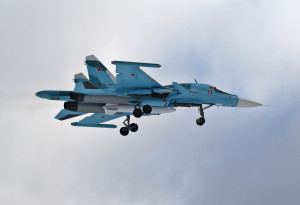 Один из новых Су-34 для ВВС России