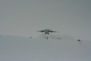 Ил-76ТД-90ВД авиакомпании Волга-Днепр в Антарктиде