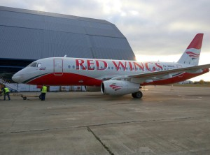Пятый Superjet 100 авиакомпании Red Wings
