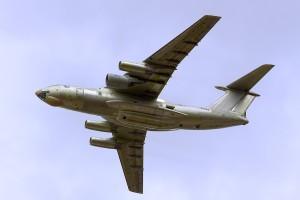 Летающая лаборатория Ил-76ЛЛ с двигателем ПД-14