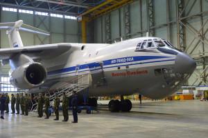 Первый Ил-76МД-90А для ВВС России