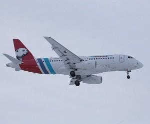 Sukhoi Superjet 100 авиакомпании Ямал