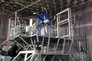 ТВ7-117СТ на испытательном стенде