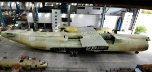 Фюзеляж второго Ан-225 Мрия