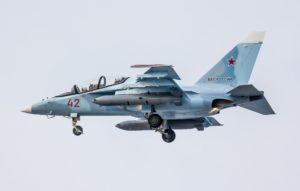 Один из четырёх новых Як-130