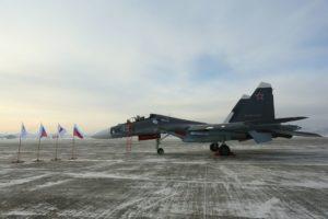 Один из новых Су-30СМ для ВМФ России
