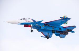 Один из новых Су-30СМ